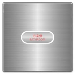 OBP光環開關(1Key) SU-OBP-1100